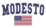 Modesto US Flag