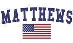 Matthews US Flag