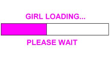 GIRL LOADING...