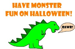 HAVE MONSTER FUN ON HALLOWEEN!