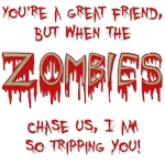 When Zombies Chase Us Teez