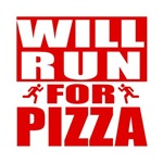 Run for Pizza (Red)