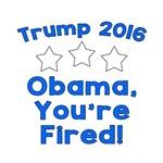 Obama Fired! Blue