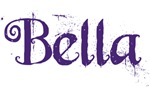 Bella (purple script)