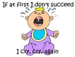 Cry, cry, again