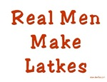 Men Make Latkes Hanukkah