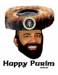 Purim WIth the President