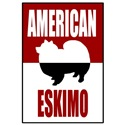 Classic Red American Eskimo