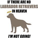 Chocolate Labs In Heaven T-Shirts