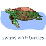 Swims With Turtles Gifts