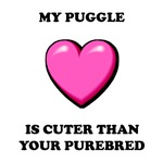 Puggle Cuter T-Shirts