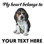 Personalized Beagle Custom