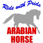 Ride With Pride Arabian Horse