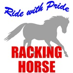 Ride With Pride Racking Horse