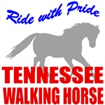 Ride With Pride Tennessee Walking Horse T-Shirts