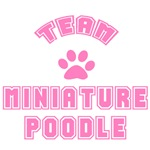 Team Miniature Poodle T-Shirts