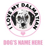 Personalized Dalmatian T-Shirts