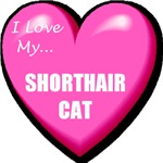 Shorthair Cat T-Shirts
