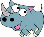 Cute Rhino