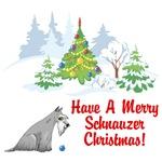 Schnauzer Christmas