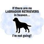 Labrador Retrievers In Heaven