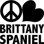 Peace Love Brittany T-Shirt