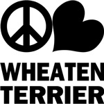 Peace Love Wheaten Terrier