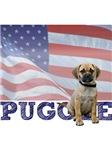 Puggle T-Shirt - Patriotic