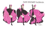 Can can dancers in Pink!