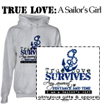 True Love: A Sailor's Girl Tees and Gifts