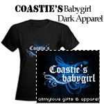 Coastie's Babygirl Dark Apparel