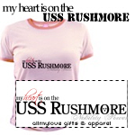 My Heart is On the USS Rushmore