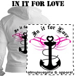 Navy: In It For Love T-Shirts and Gifts