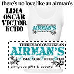 Lima Oscar Victor Echo: Airman Tees and Gifts