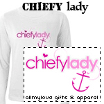 Chiefy Lady T-Shirts and Gifts