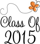 Class of 2015 Butterfly Graduate Gifts & Tees