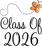 Class of 2026 Butterfly Graduate Gifts & Tees