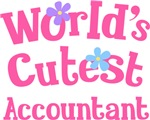 Worlds Cutest Accountant Gifts and T-shirts