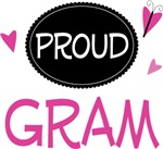 Proud Gram Butterfly T-shirts and Gifts