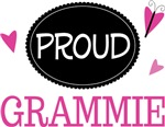 Proud Grammie Butterfly T-shirts and Gifts