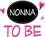 Nonna to Be Butterfly T-shirts and Gifts