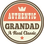 Authentic Vintage Grandad Gifts and T-Shirts