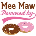 Mee Maw Powered By Donuts Gift