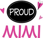Proud Mimi Butterfly T-shirts and Gifts