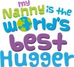 Nanny Is Worlds Best Hugger