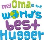 Oma Is Worlds Best Hugger