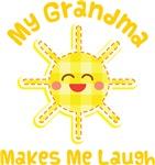 My Grandma Makes Me Laugh Kids Apparel