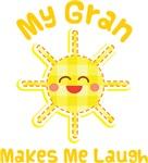 My Gran Makes Me Laugh Kids Apparel