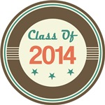 Vintage Class of 2014 School T-shirts