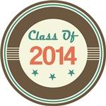 Vintage Class of 2014 School T-shirts